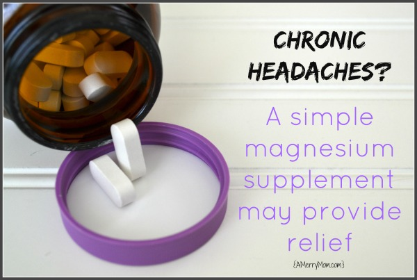 It Worked For Me Magnesium Supplements For Headaches