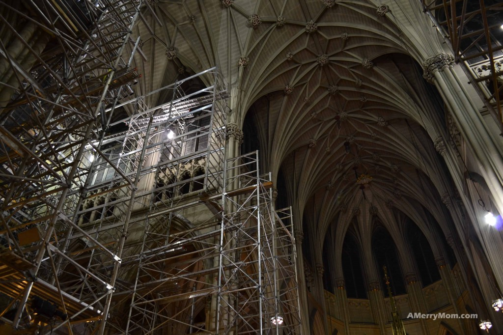 St. Patrick's Cathedral under renovation - December 1, 2013