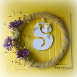 Cheery spring wreath