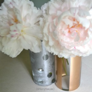 DIY painted vases from amerrymom.com