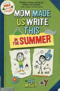 Mom Made Us Write This In The Summer by Ali Maier - book review on amerrymom.com