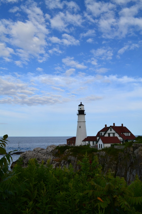 Portland Head Light Cape Elizabeth Maine - amerrymom.com