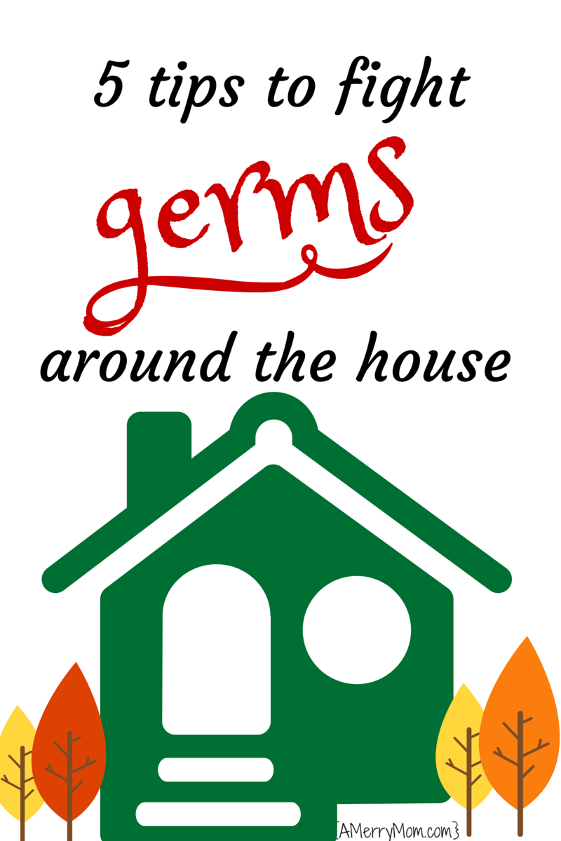 5 tips for fighting germs around the house - AMerryMom.com