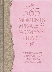 365 Moments of Peace for a Woman's Heart devotional book review - amerrymom.com