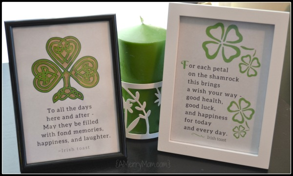 St. Patrick's Day tosts framed - AMerryMom.com