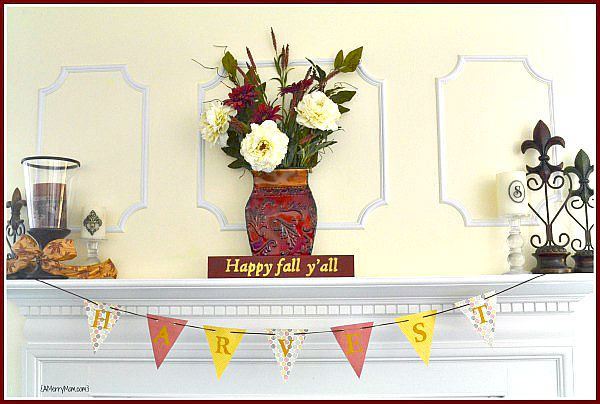 Happy fall mantle 2