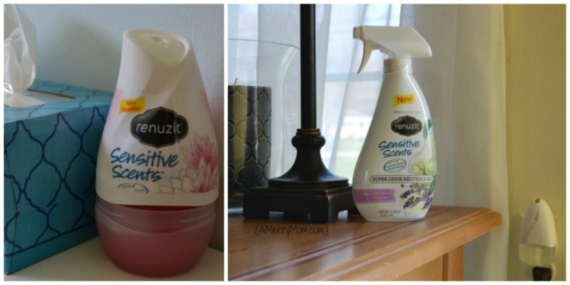 Freshening up for spring with Renuzit Sensitive Scents