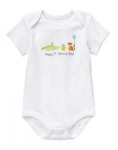 Gymboree Father's Day bodysuit