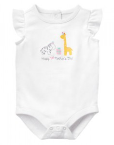 Gymboree Mother's Day bodysuit