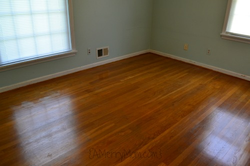 Hardwood floors polish #1