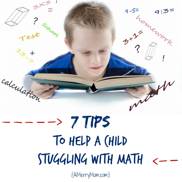 7 tips for how to help a child struggling with math